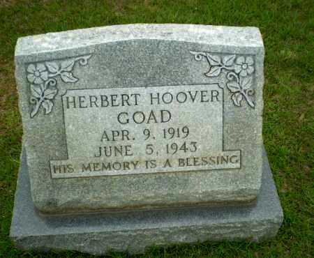 GOAD, HERBERT HOOVER - Craighead County, Arkansas | HERBERT HOOVER GOAD - Arkansas Gravestone Photos