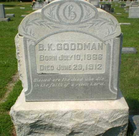 GOODMAN, B.K. - Craighead County, Arkansas | B.K. GOODMAN - Arkansas Gravestone Photos