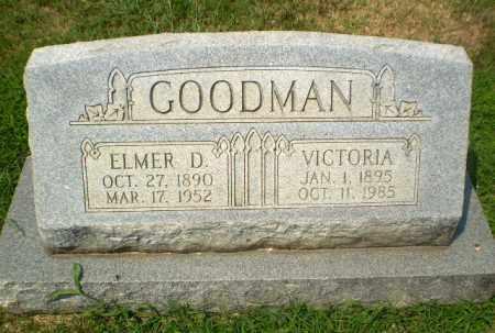 GOODMAN, ELMER D - Craighead County, Arkansas   ELMER D GOODMAN - Arkansas Gravestone Photos