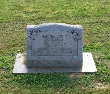 GOSSAGE, MARTHA VIOLA - Craighead County, Arkansas | MARTHA VIOLA GOSSAGE - Arkansas Gravestone Photos