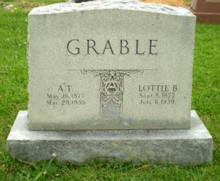 GRABLE, A.T. - Craighead County, Arkansas | A.T. GRABLE - Arkansas Gravestone Photos