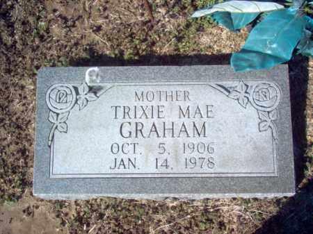 GRAHAM, TRIXIE MAE - Craighead County, Arkansas | TRIXIE MAE GRAHAM - Arkansas Gravestone Photos