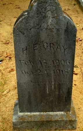 GRAY, H.E. - Craighead County, Arkansas | H.E. GRAY - Arkansas Gravestone Photos