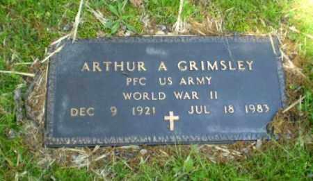 GRIMSLEY  (VETERAN WWII), ARTHUR - Craighead County, Arkansas   ARTHUR GRIMSLEY  (VETERAN WWII) - Arkansas Gravestone Photos