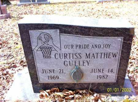 GULLEY, CURTISS  MATTHEW - Craighead County, Arkansas | CURTISS  MATTHEW GULLEY - Arkansas Gravestone Photos