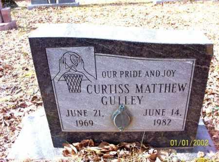 GULLEY, CURTISS  MATTHEW - Craighead County, Arkansas | CURTISS  MATTHEW GULLEY - Arkansas Gravestone Photos