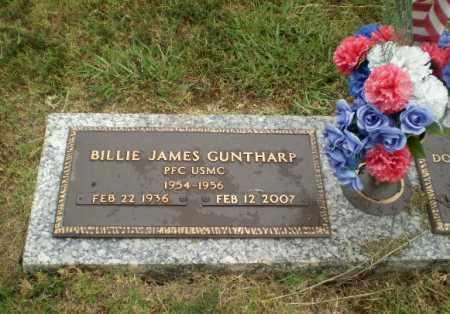 GUNTHARP  (VETERAN), BILLIE JAMES - Craighead County, Arkansas | BILLIE JAMES GUNTHARP  (VETERAN) - Arkansas Gravestone Photos