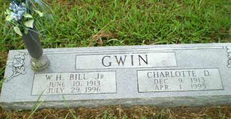 "GWIN, JR, W.H. ""BILL"" - Craighead County, Arkansas | W.H. ""BILL"" GWIN, JR - Arkansas Gravestone Photos"