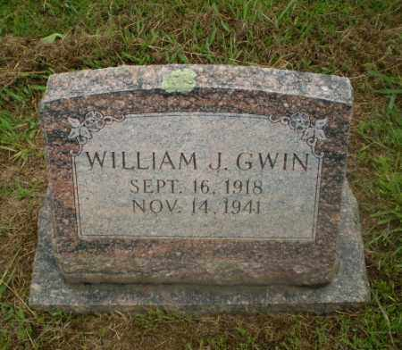 GWIN, WILLIAM J - Craighead County, Arkansas | WILLIAM J GWIN - Arkansas Gravestone Photos