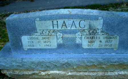 HAAG, CHARLES THOMAS - Craighead County, Arkansas | CHARLES THOMAS HAAG - Arkansas Gravestone Photos