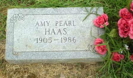 HAAS, AMY PEARL - Craighead County, Arkansas | AMY PEARL HAAS - Arkansas Gravestone Photos