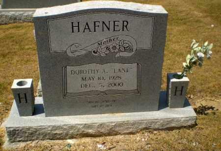 LANE HAFNER, DOROTHY A - Craighead County, Arkansas | DOROTHY A LANE HAFNER - Arkansas Gravestone Photos