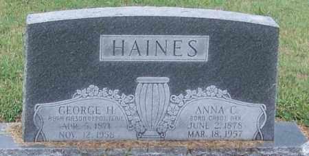 HAINES, ANNA C. - Craighead County, Arkansas | ANNA C. HAINES - Arkansas Gravestone Photos