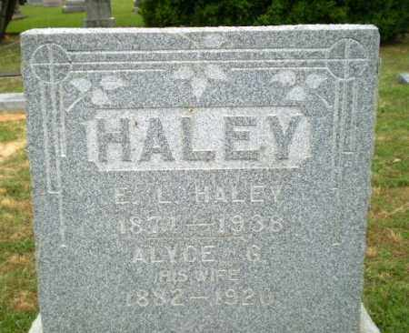 HALEY, E.L. - Craighead County, Arkansas | E.L. HALEY - Arkansas Gravestone Photos