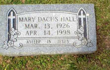 DACUS HALL, MARY - Craighead County, Arkansas | MARY DACUS HALL - Arkansas Gravestone Photos