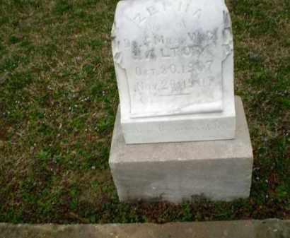 HALTOM, ZEPHA - Craighead County, Arkansas | ZEPHA HALTOM - Arkansas Gravestone Photos