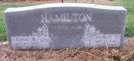 HAMILTON, LONA B. - Craighead County, Arkansas | LONA B. HAMILTON - Arkansas Gravestone Photos