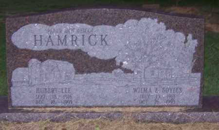 HAMRICK, WILMA E. - Craighead County, Arkansas | WILMA E. HAMRICK - Arkansas Gravestone Photos
