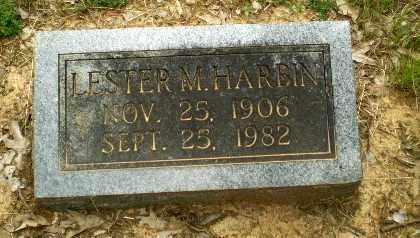 HARBIN, LESTER M - Craighead County, Arkansas   LESTER M HARBIN - Arkansas Gravestone Photos