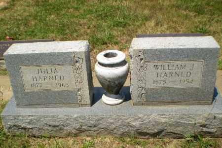 HARNED, WILLIAM J - Craighead County, Arkansas | WILLIAM J HARNED - Arkansas Gravestone Photos