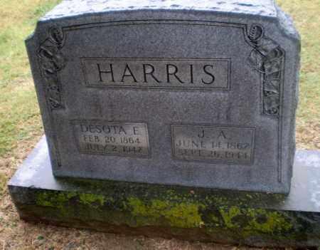 HARRIS, J.A. - Craighead County, Arkansas | J.A. HARRIS - Arkansas Gravestone Photos