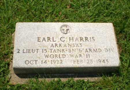 HARRIS (VETERAN WWII), EARL C - Craighead County, Arkansas   EARL C HARRIS (VETERAN WWII) - Arkansas Gravestone Photos