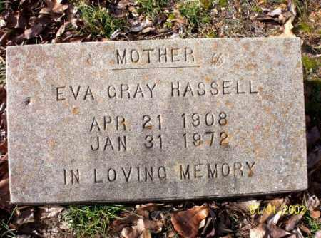 HASSEL, EVA  GRAY - Craighead County, Arkansas   EVA  GRAY HASSEL - Arkansas Gravestone Photos