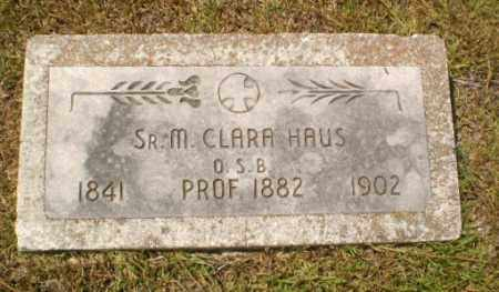 HAUS, SISTER M. CLARA - Craighead County, Arkansas | SISTER M. CLARA HAUS - Arkansas Gravestone Photos