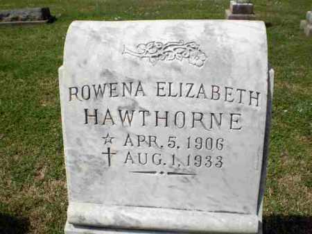 HAWTHORNE, ROWENA ELIZABETH - Craighead County, Arkansas | ROWENA ELIZABETH HAWTHORNE - Arkansas Gravestone Photos
