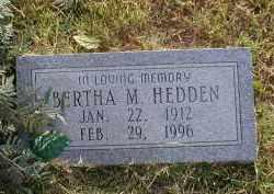 HEDDEN, BERTHA M. - Craighead County, Arkansas | BERTHA M. HEDDEN - Arkansas Gravestone Photos