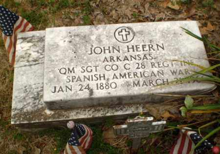 HEERN   (VETERAN SAW), JOHN - Craighead County, Arkansas   JOHN HEERN   (VETERAN SAW) - Arkansas Gravestone Photos
