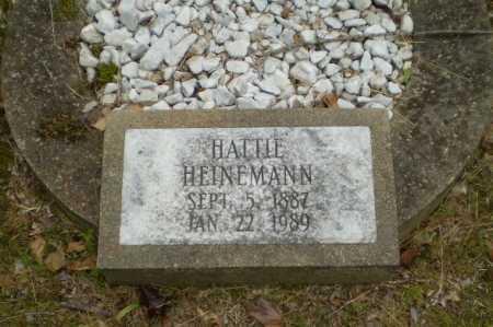 HEINEMANN, HATTIE - Craighead County, Arkansas   HATTIE HEINEMANN - Arkansas Gravestone Photos