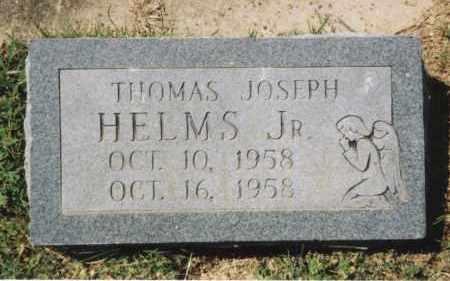 HELMS, JR., THOMAS JOSEPH - Craighead County, Arkansas | THOMAS JOSEPH HELMS, JR. - Arkansas Gravestone Photos