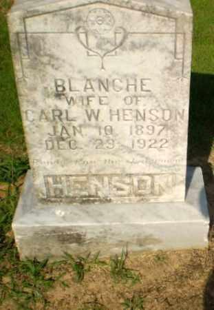 HENSON, BLANCHE - Craighead County, Arkansas | BLANCHE HENSON - Arkansas Gravestone Photos
