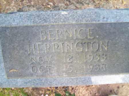 HERRINGTON, BERNICE - Craighead County, Arkansas | BERNICE HERRINGTON - Arkansas Gravestone Photos