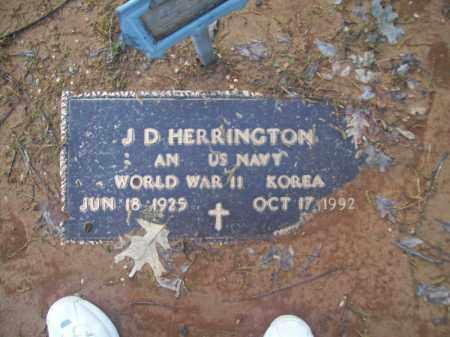 HERRINGTON (VETERAN 2 WARS), J. D. - Craighead County, Arkansas   J. D. HERRINGTON (VETERAN 2 WARS) - Arkansas Gravestone Photos