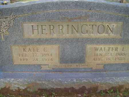 HERRINGTON, WALTER L. - Craighead County, Arkansas | WALTER L. HERRINGTON - Arkansas Gravestone Photos