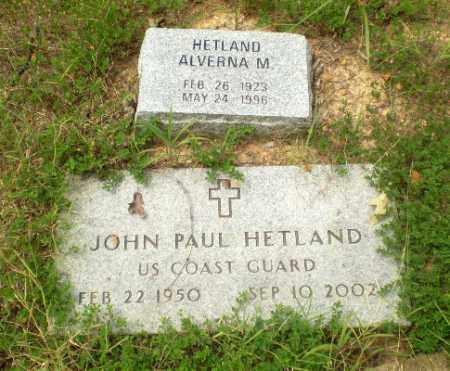 HETLAND  (VETERAN), JOHN PAUL - Craighead County, Arkansas | JOHN PAUL HETLAND  (VETERAN) - Arkansas Gravestone Photos