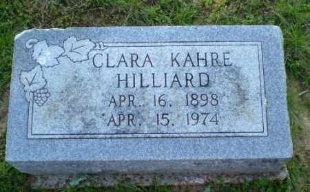 KAHRE HILLIARD, CLARA - Craighead County, Arkansas | CLARA KAHRE HILLIARD - Arkansas Gravestone Photos