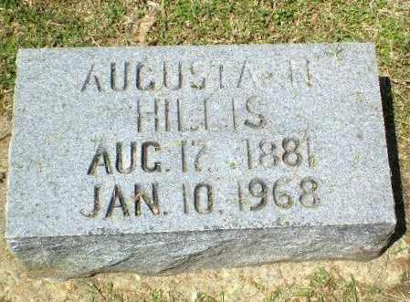 HILLIS, AUGUSTA N - Craighead County, Arkansas   AUGUSTA N HILLIS - Arkansas Gravestone Photos