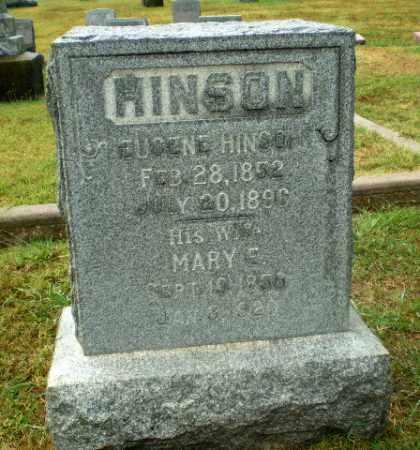 HINSON, MARY E - Craighead County, Arkansas   MARY E HINSON - Arkansas Gravestone Photos