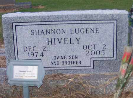 HIVELY, SHANNON EUGENE - Craighead County, Arkansas | SHANNON EUGENE HIVELY - Arkansas Gravestone Photos