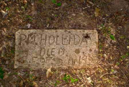 HOLLIDAY, P.M. - Craighead County, Arkansas | P.M. HOLLIDAY - Arkansas Gravestone Photos
