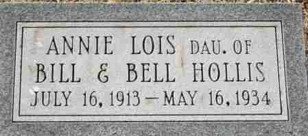 HOLLIS, ANNIE LOIS - Craighead County, Arkansas | ANNIE LOIS HOLLIS - Arkansas Gravestone Photos