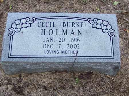 HOLMAN, CECIL - Craighead County, Arkansas | CECIL HOLMAN - Arkansas Gravestone Photos