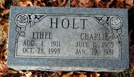HOLT, ETHEL - Craighead County, Arkansas | ETHEL HOLT - Arkansas Gravestone Photos