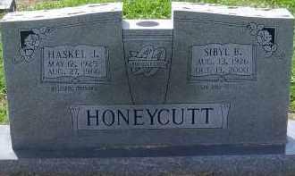HONEYCUTT, HASKEL L. - Craighead County, Arkansas | HASKEL L. HONEYCUTT - Arkansas Gravestone Photos