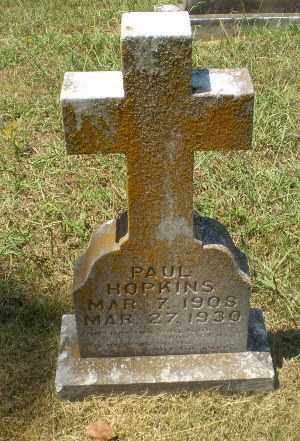 HOPKINS, PAUL - Craighead County, Arkansas   PAUL HOPKINS - Arkansas Gravestone Photos