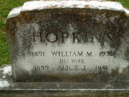 HOPKINS, ALICE J - Craighead County, Arkansas | ALICE J HOPKINS - Arkansas Gravestone Photos
