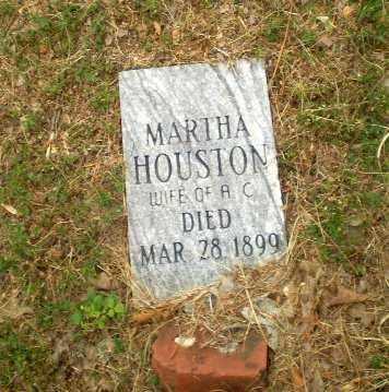 HOUSTON, MARTHA - Craighead County, Arkansas | MARTHA HOUSTON - Arkansas Gravestone Photos